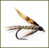 Fulling Mill�s Winged Wets - March Brown - Modell 125