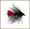 Fulling Mill�s Hackled Wets - Black Zulu - Modell 207